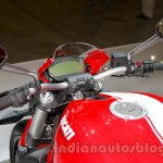 Ducati Monster 821 Stripe instrument cluster at EICMA 2014