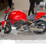 Ducati Monster 821 Stripe side at EICMA 2014