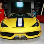 Ferrari 458 Speciale A front at Guangzhou Auto Show 2014