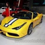 Ferrari 458 Speciale A front quarter at Guangzhou Auto Show 2014