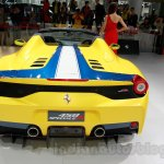 Ferrari 458 Speciale A rear at Guangzhou Auto Show 2014