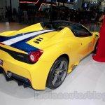 Ferrari 458 Speciale A rear quarter at Guangzhou Auto Show 2014