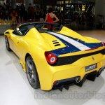 Ferrari 458 Speciale A rear quarters at Guangzhou Auto Show 2014