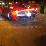 Ferrari LaFerrari spotted in India rear