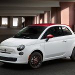 Fiat 500 Ribelle special edition front three quarter