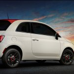 Fiat 500 Ribelle special edition rear three quarter
