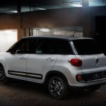 Fiat 500L Urbana Trekking special edition rear three quarter