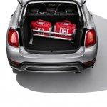 Fiat 500X Mopar boot organizer