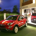 Fiat 500X Mopar front three quarter red