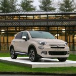 Fiat 500X Mopar front three quarter