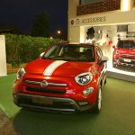 Fiat 500X Mopar red front three quarter