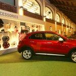 Fiat 500X Mopar red side