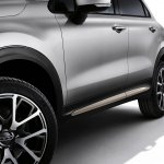 Fiat 500X Mopar wheel