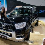 Foton Sauvana LX accessorized front three quarters at the 2014 Guangzhou Auto Show