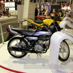 Hero HF Deluxe side at EICMA 2014