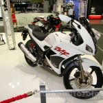 Hero Karizma ZMR front three quarter at EICMA 2014