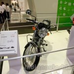 Hero Splendor Pro Classic front at EICMA 2014