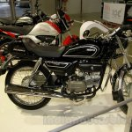 Hero Splendor Pro Classic side at EICMA 2014