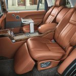 Holland & Holland Range Rover Executive Class seats