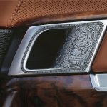 Holland & Holland Range Rover interior door handle