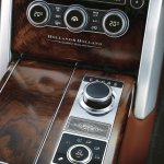 Holland & Holland Range Rover walnut wooden veneer