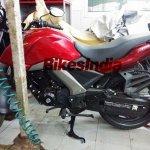 Honda CB Unicorn 160 spied side