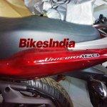 Honda CB Unicorn 160 spied tailpiece