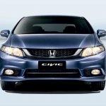 Honda Civic facelift Malaysia front