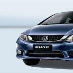 Honda Civic facelift Malaysia grille
