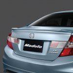 Honda Civic facelift Malaysia rear fascia