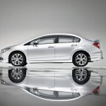 Honda Civic facelift Malaysia side