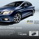 Honda Civic facelift Malaysia