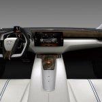 Honda FCV Concept dashboard