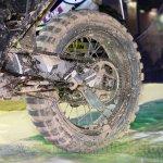 Honda True Adventure Prototype rear wheel at EICMA 2014
