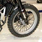 Husqvarna 401 Svartpilen concept front wheel  at EICMA 2014