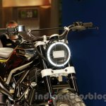 Husqvarna 401 Svartpilen concept headlight at EICMA 2014