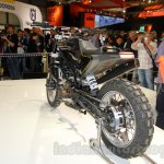 Husqvarna 401 Svartpilen concept rear three quarter at EICMA 2014