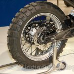 Husqvarna 401 Svartpilen concept wheel at EICMA 2014