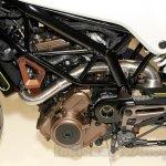 Husqvarna 401 Vitpilen concept engine at EICMA 2014