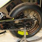 Husqvarna 401 Vitpilen rear wheel concept at EICMA 2014