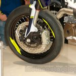 Husqvarna 701 Supermoto front wheel at EICMA 2014
