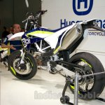 Husqvarna 701 Supermoto rear three quarter at EICMA 2014