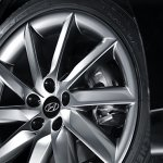 Hyundai Aslan alloy wheels