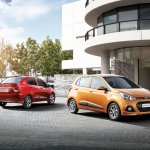 Hyundai Grand i10 Sedan (Xcent) press shot
