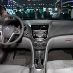 Hyundai Verna Facelift dashboard at the 2014 Guangzhou Auto Show