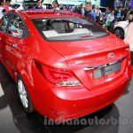 Hyundai Verna Facelift rear quarter at the 2014 Guangzhou Auto Show