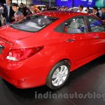 Hyundai Verna Facelift rear quarters at the 2014 Guangzhou Auto Show