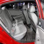 Hyundai Verna Facelift rear seat at the 2014 Guangzhou Auto Show