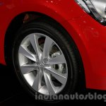 Hyundai Verna Facelift wheel at the 2014 Guangzhou Auto Show