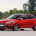 Hyundai i20 R Specification speculative rendering